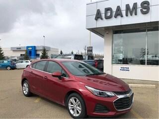 New 2019 Chevrolet Cruze LT Cajun Red Paint! Hatchback 3G1BE6SM5KS568181 In Wetaskiwin & Ponoka, AB