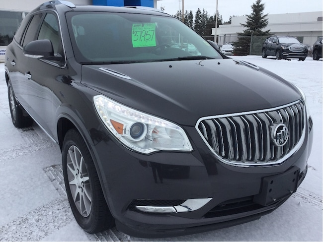 Certified Used 2017 Buick Enclave Leather, Sunroof, Heated Steering Wheel SUV Wetaskwin