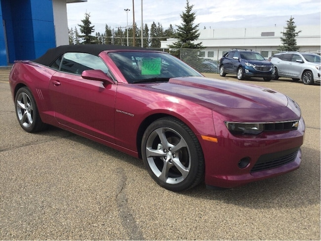 Certified Used 2014 Chevrolet Camaro 2LT, Convertible, RS Package Convertible Wetaskwin