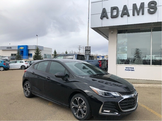 New 2019 Chevrolet Cruze LT RS Appearance Package! Hatchback Wetaskiwin and Ponoka