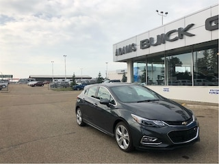 New 2018 Chevrolet Cruze Premier RS 21% OFF Hatchback 3G1BF6SM4JS652584 In Wetaskiwin & Ponoka, AB