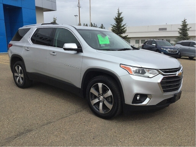 Certified Used 2018 Chevrolet Traverse LT True North, 2nd Row Bucket Seats, Navigation SUV Wetaskwin