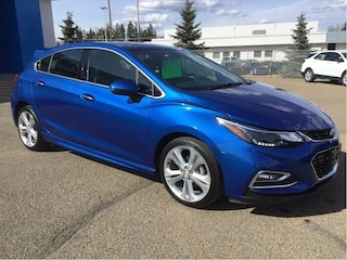 Used 2018 Chevrolet Cruze Premier, Heated Seats, Leather, Apple Carplay Hatchback 3G1BF6SM9JS627177 In Wetaskiwin & Ponoka, AB
