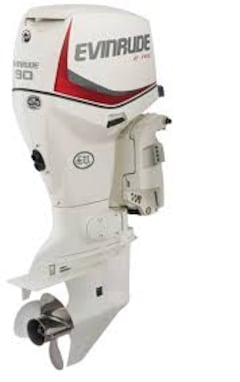 2012 EVINRUDE 90HP PIED EXTRA LONG