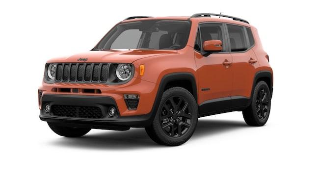 New 2019 Jeep Renegade ALTITUDE FWD Sport Utility in Mt. Dora, FL