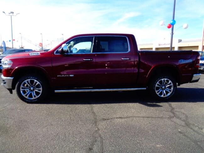 New 2019 Ram 1500 LARAMIE LONGHORN CREW CAB 4X4 5'7 BOX Crew Cab for sale/lease in Farmington, NM