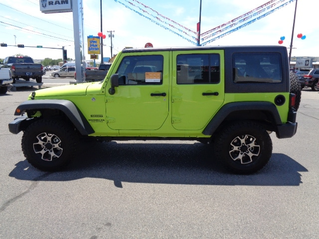 2017 Jeep Wrangler Unlimited Sport Crossover SUV