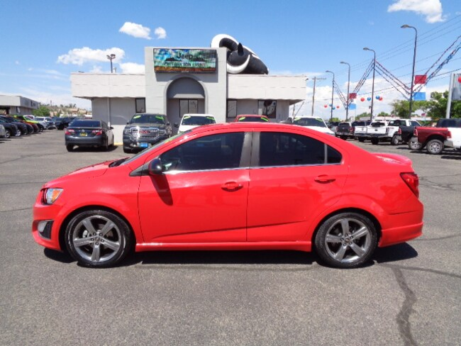 Used 2015 Chevrolet Sonic RS Compact Car for sale in Farmington, NM