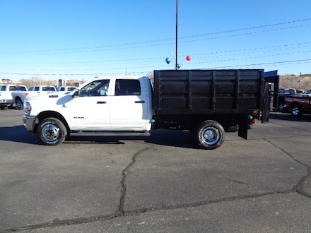 Featured new  2019 Ram 3500 Chassis Cab 3500 TRADESMAN CREW CAB CHASSIS 4X4 172.4 WB Crew Cab for sale in Farmington, NM