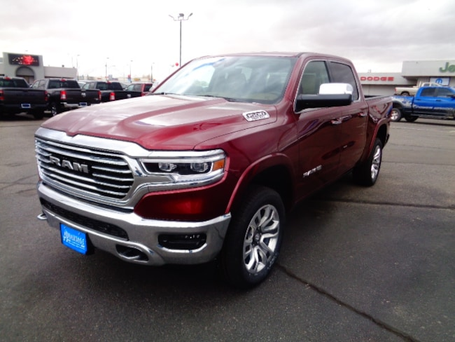 New 2019 Ram 1500 LARAMIE LONGHORN CREW CAB 4X4 5'7 BOX Crew Cab for sale/lease in Farmington, NM