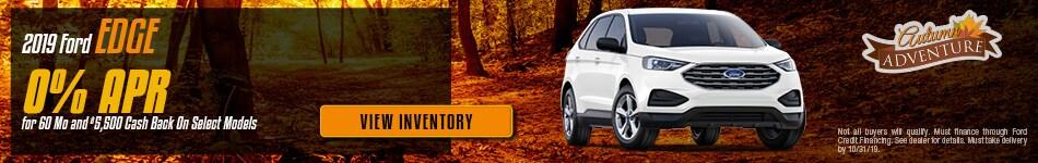 October 2019 Ford Edge Offer