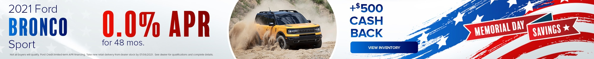 2021 Ford Bronco Sport - May 2021