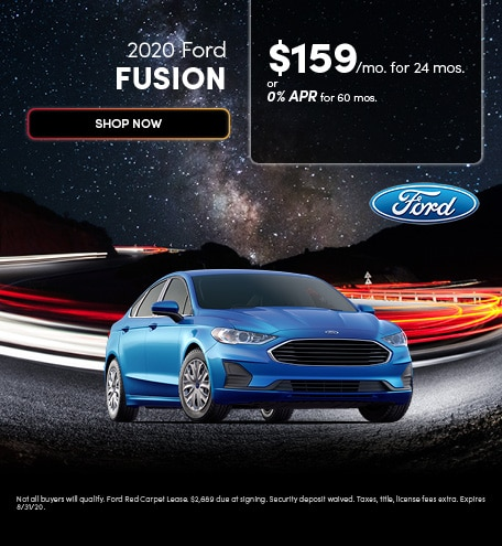 2020 Ford Fusion - August 2020
