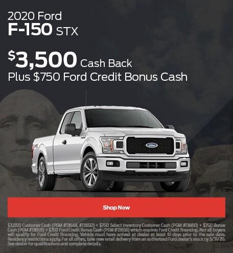 2020 Ford F-150 STX - February 2020