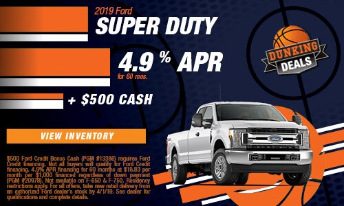 New 2019 Ford Super Duty 3/8