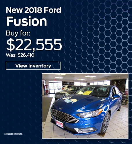 New 2018 Ford Fusion 3/15
