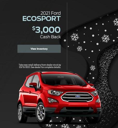 2021 Ford EcoSport - January 2021
