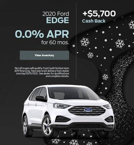 2020 Ford Edge- January 2021