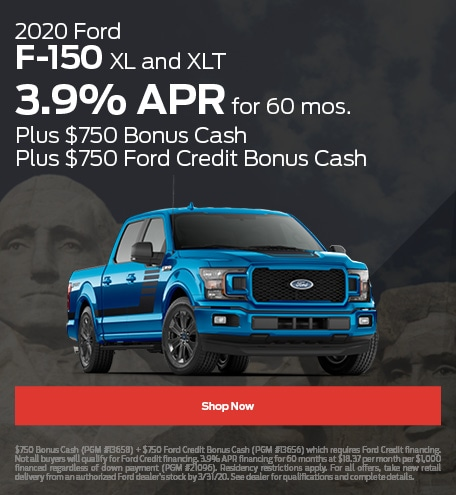 2020 Ford F-150 XL and XLT - February 2020