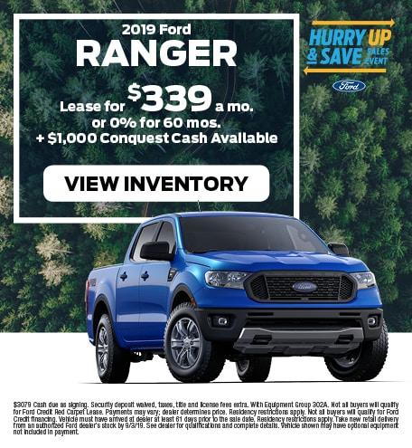 New 2019 Ford Ranger 7/12/2019