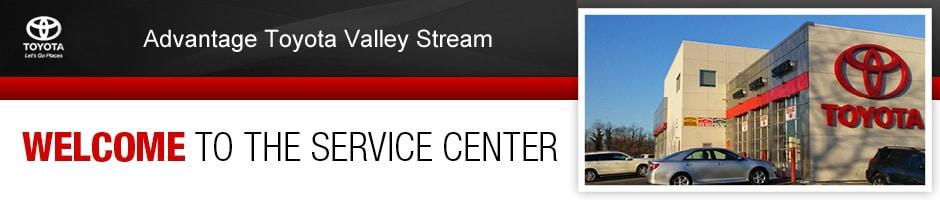 Advantage Toyota Valley Stream Service Center
