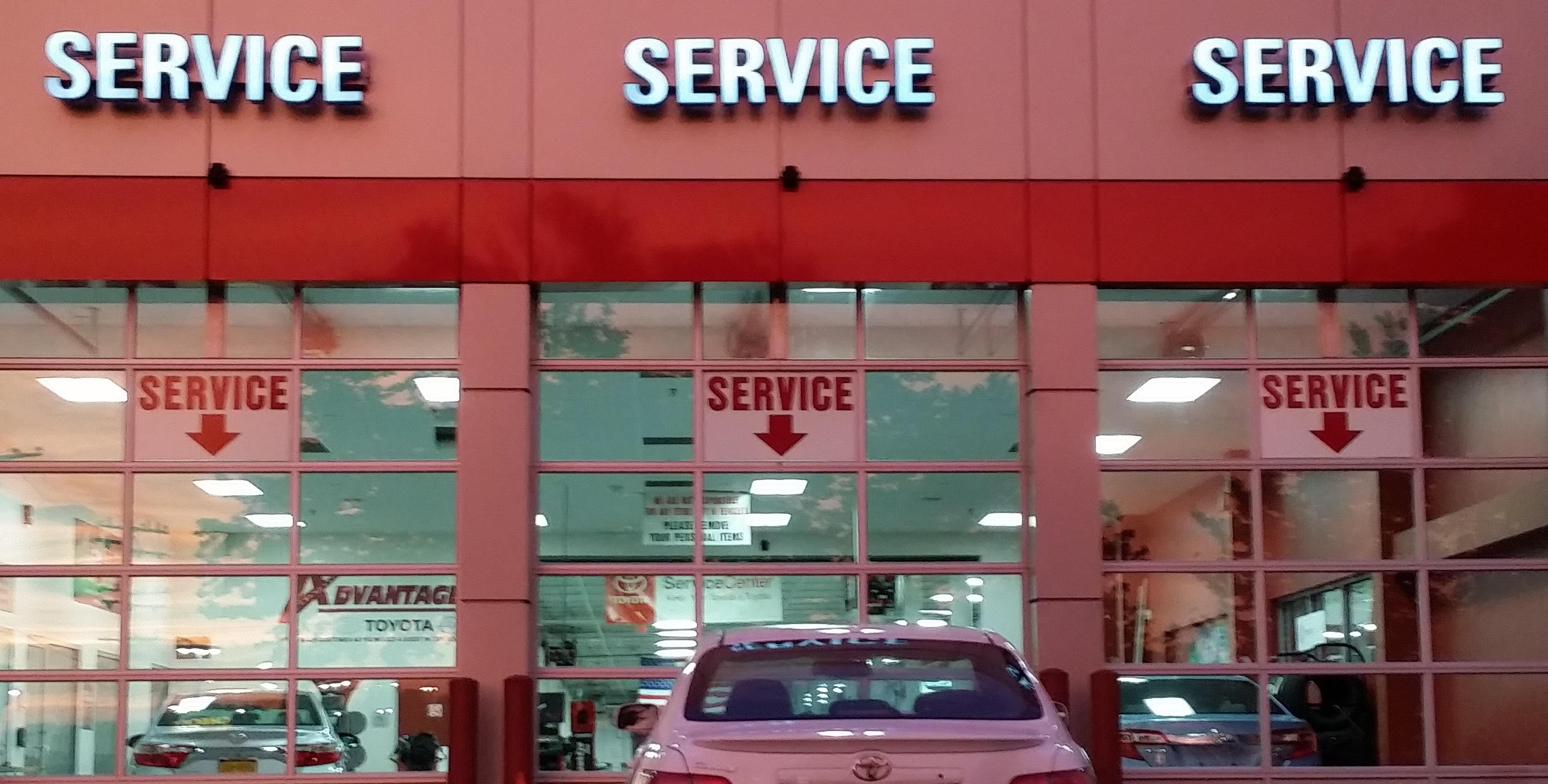 Good Advantage Toyota Valley Stream Service Center. Schedule Service