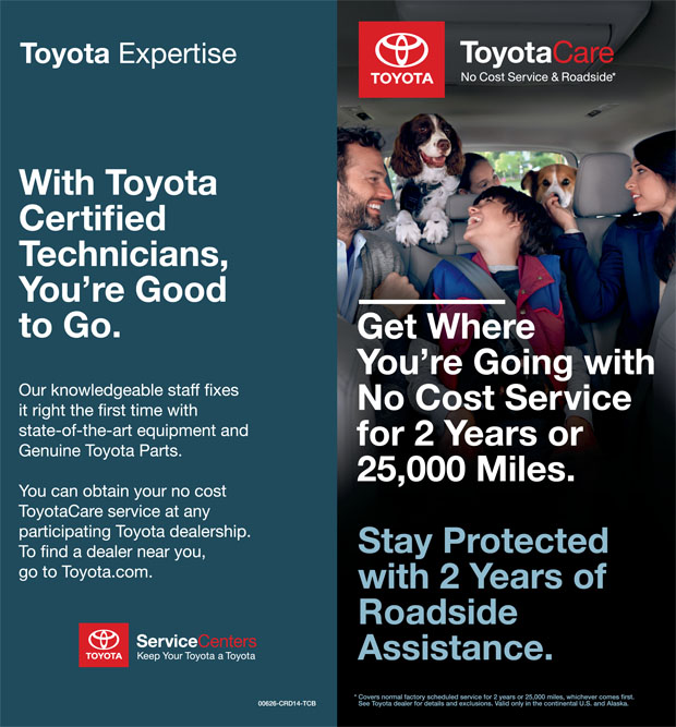Toyotacare Roadside Assistance Number >> Toyotacare In Valley Stream At Advantage Toyota Valley Stream