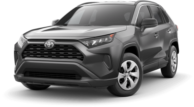 2021 Toyota RAV4 lease offer with low monthly payments in Chicago