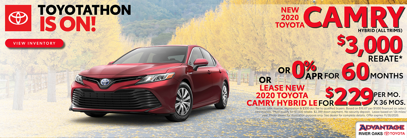 2020 Toyota Camry Hybrid Finance or Lease Offer| Calumet City, IL