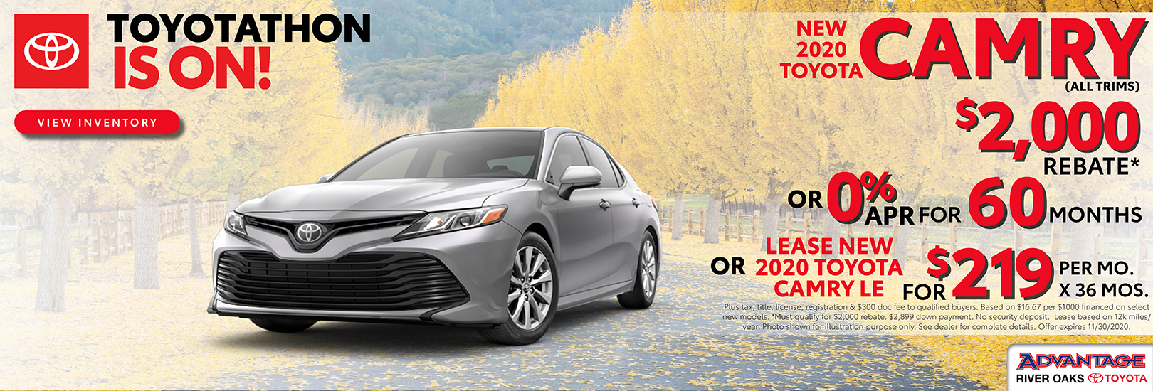 2020 Toyota Camry Finance or Lease Offer | Calumet City, IL