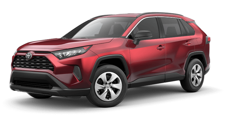 2021 Toyota RAV4 lease offer with zero money down in Chicago