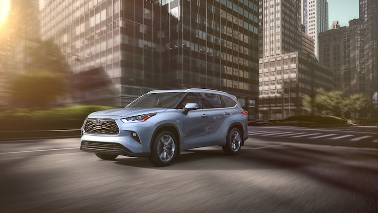 2020 Toyota Highlander Design