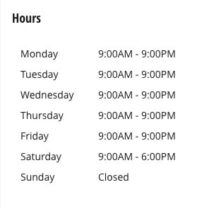 hours for Advantage Toyota of River Oaks service center