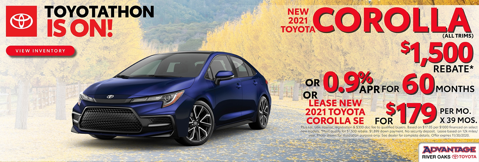 2021 Toyota Corolla Finance or Lease Offer | Calumet City, IL