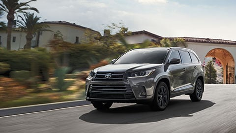 2019 Toyota Highlander Design