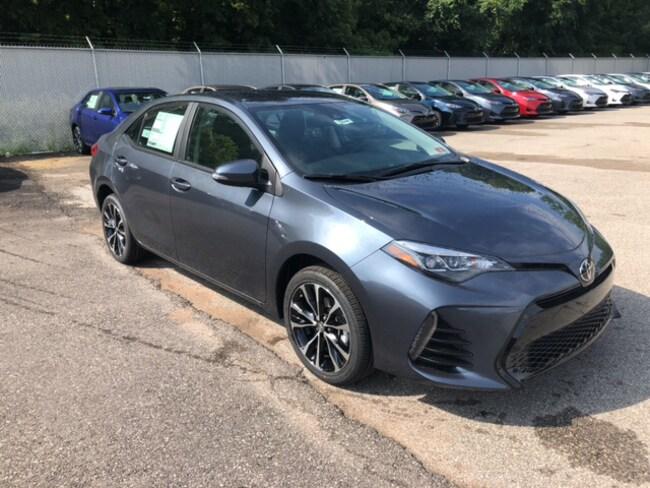 New 2019 Toyota Corolla SE Sedan Near Ashland KY