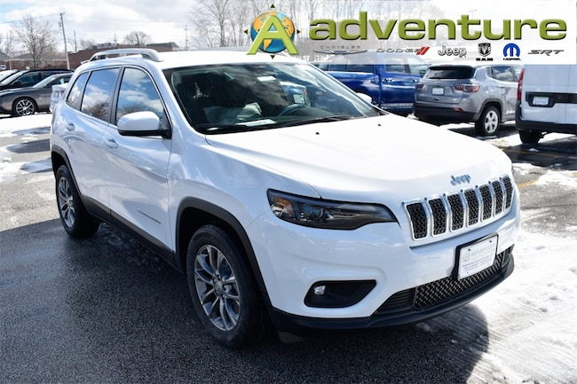 New 2019 Jeep Cherokee LATITUDE PLUS FWD Bright White ...