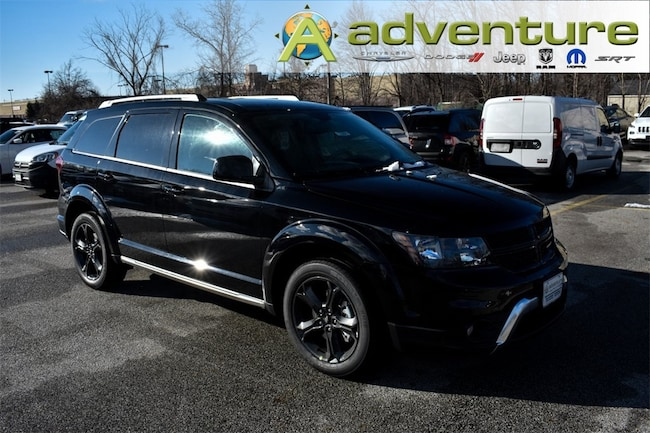 Dodge Journey Crossroad >> New 2018 Dodge Journey CROSSROAD AWD Pitch Black Clearcoat For Sale Serving Euclid