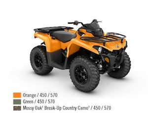2018 CAN-AM Outlander 450 DPS /570