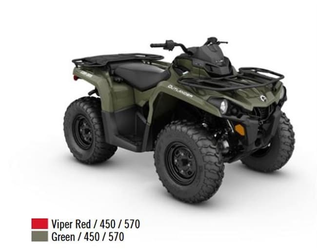 2018 CAN-AM Outlander 450 /570