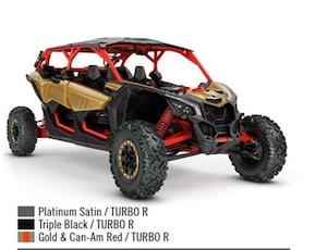 2018 CAN-AM Maverick X3 X rs Turbo R -