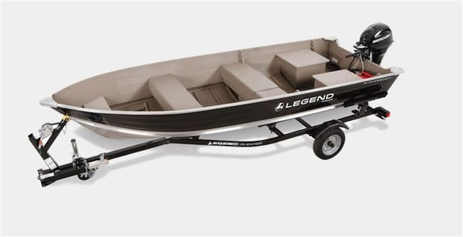 2017 Legend Boats 16 Widebody  $38.00 WEEKLY TAX IN O.A.C. -