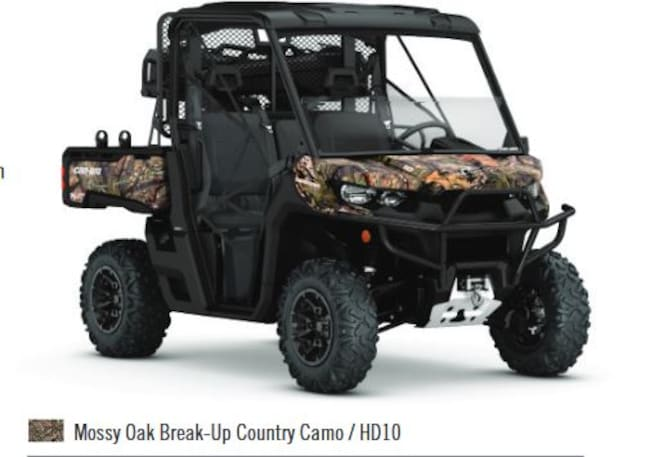 2018 CAN-AM Defender Mossy Oak Hunting Edition