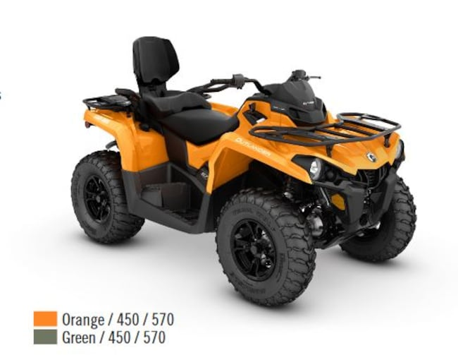 2018 CAN-AM Outlander Max DPS 450 570