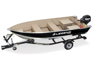 2018 Legend Boats 2 left 14 WideBody & 9.9 $31.00 Weekly o.a.c