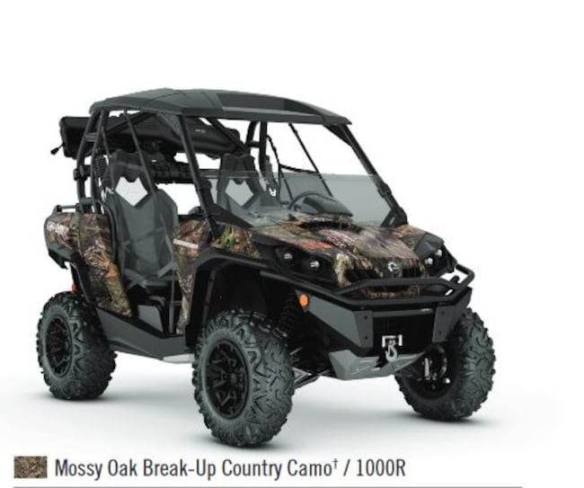 new 2018 can am commander 1000 hunting edition for sale new glasgow ns. Black Bedroom Furniture Sets. Home Design Ideas