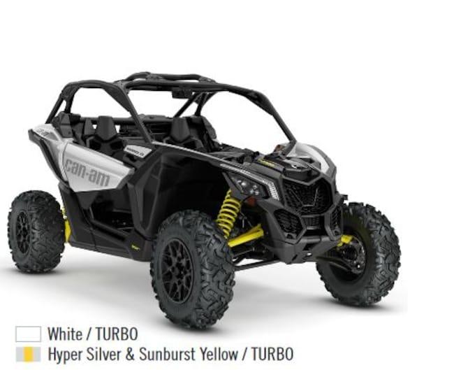 2018 CAN-AM Maverick X3 Turbo Turbo