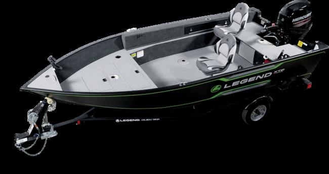 2019 Legend Boats 16 XTE TILLER