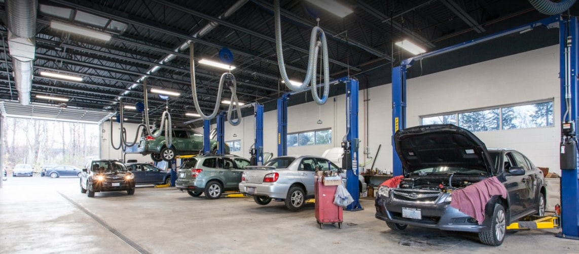 Adventure Subaru service center