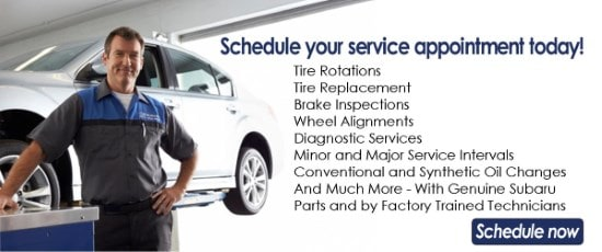 schedule Subaru service in Painesville